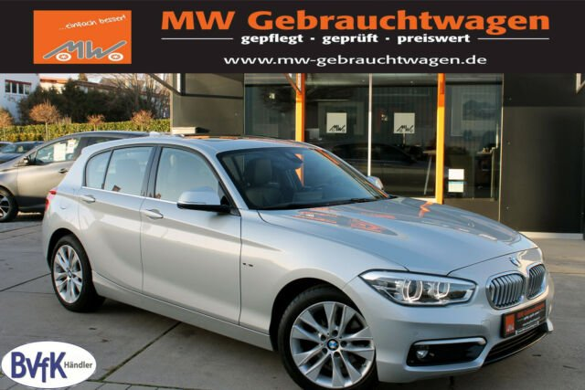 BMW 125i 5-Trg. Urban Line Navi Memory GSD LED SHZ, Jahr 2015, petrol