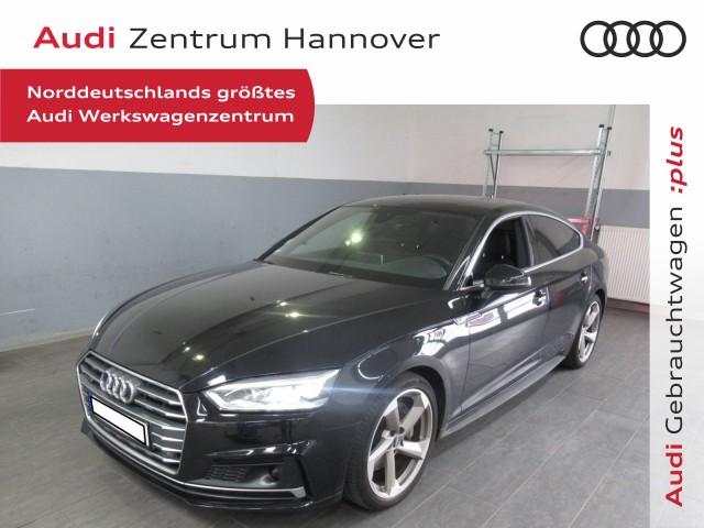 Audi A5 Sportback 2.0 TFSI qu. S-line, virtual, Matrix, ACc, Alcant., Jahr 2017, Benzin