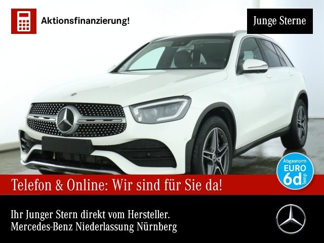 Mercedes-Benz GLC 300 4M AMG 360° Stdhzg Pano Multibeam EDW 9G, Jahr 2020, Benzin