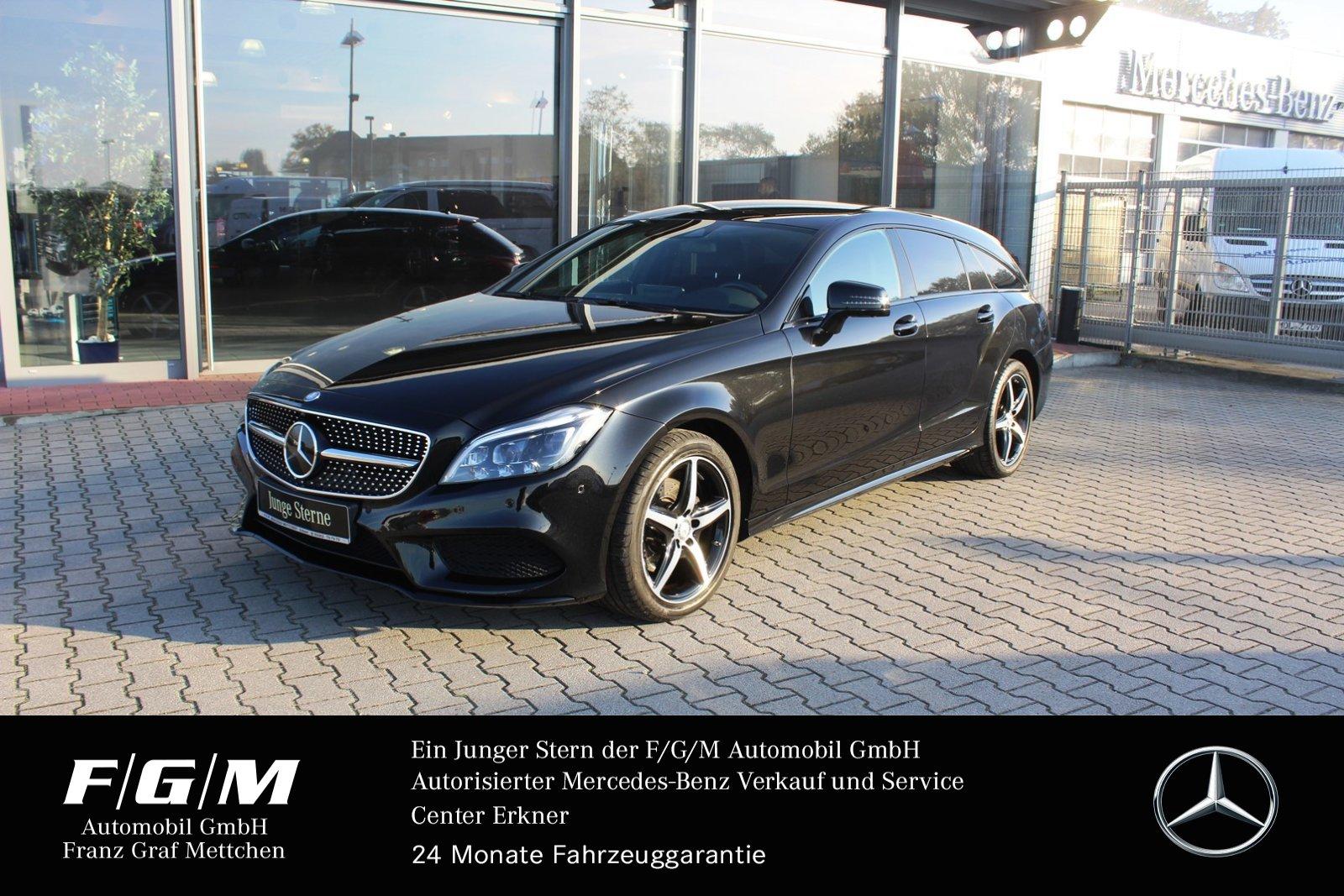 Mercedes-Benz CLS 250 BT 4M SB AMG/Com/ILS/Distr/Airmatic/Nigh, Jahr 2015, Diesel