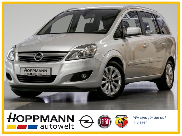 Opel Zafira B Family Plus 1.8 Dyn. Kurvenlicht Multif.Lenkrad Klimaautom SHZ Temp PDC CD MP3, Jahr 2013, Benzin