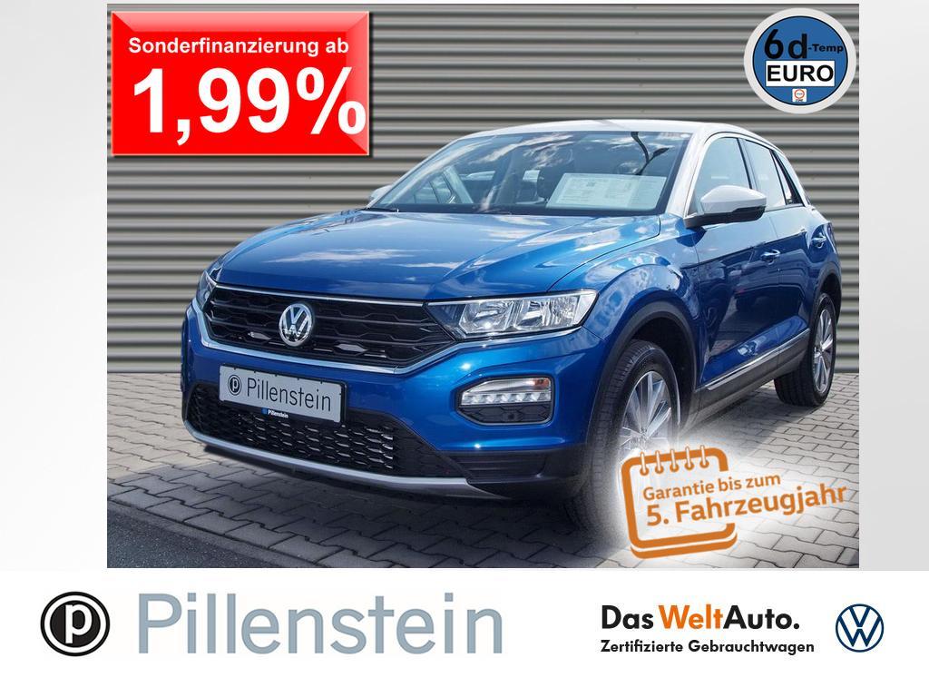 Volkswagen T-Roc 2.0 TDI Style DSG ACC STANDHZG. LANE NAVI, Jahr 2020, Diesel