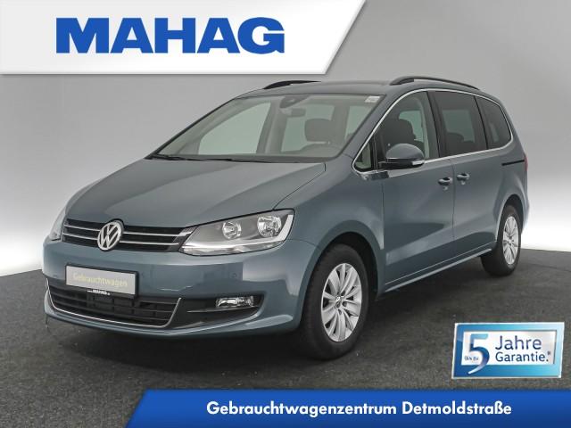 Volkswagen Sharan COMFORTLINE 2.0 TDI 7-Sitzer Navi DAB+ Bluetooth BlindSpot LaneAssist ParkPilot 16Zoll DSG, Jahr 2020, Diesel