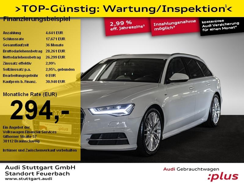 Audi A6 Avant 1.8 TFSI S tronic S line Navi LED PDC, Jahr 2018, Benzin