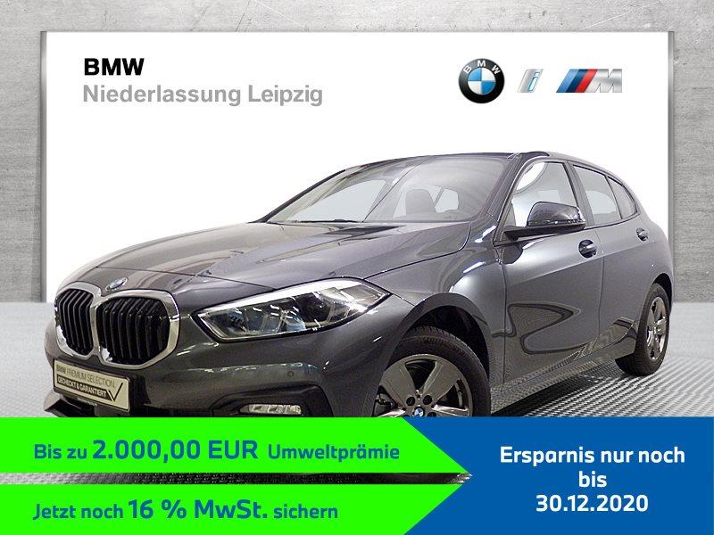 BMW 116d EURO6 Advantage LED Tempomat Klimaaut. Shz PDC, Jahr 2019, Diesel