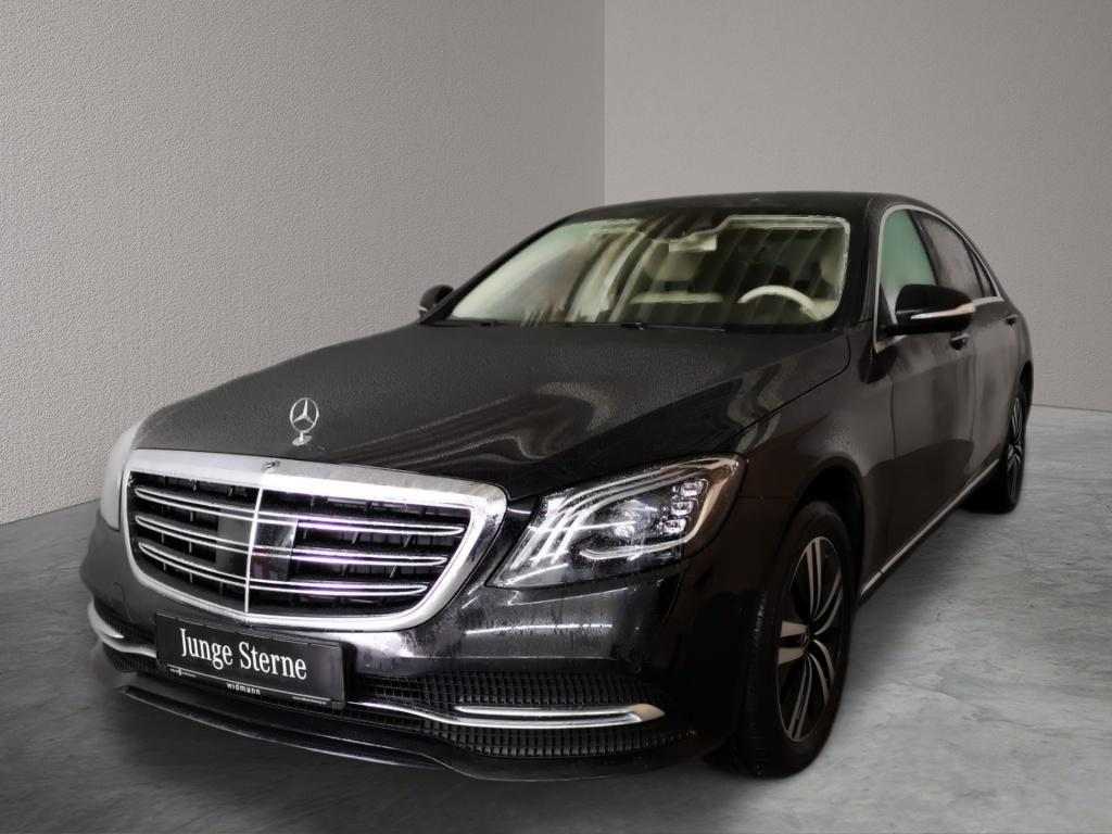 Mercedes-Benz S 400 d 4M lang Sitzklima*Burmester*Comand*Stand, Jahr 2017, Diesel