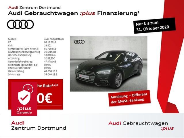 Audi A5 Sportback sport 45TDI qu. S line/LED/ACC/eSitze/VC, Jahr 2019, Diesel