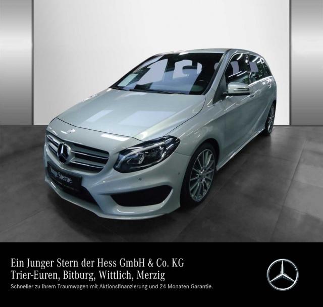 Mercedes-Benz B 220 CDI BE AMG+EUR6+LED+Standhz+Navi+PDC, Jahr 2015, diesel