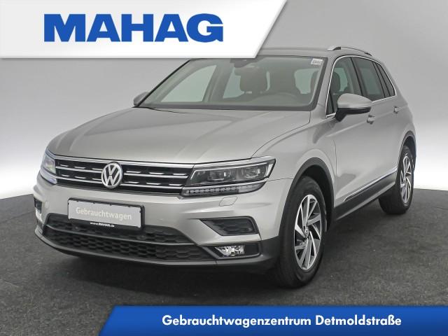 Volkswagen Tiguan 1.4 TSI SOUND Navi LED eKlappe AppConnect Sitzhz. ParkPilot DynLightAssist FrontAssist 17Zoll 6-Gang, Jahr 2017, Benzin