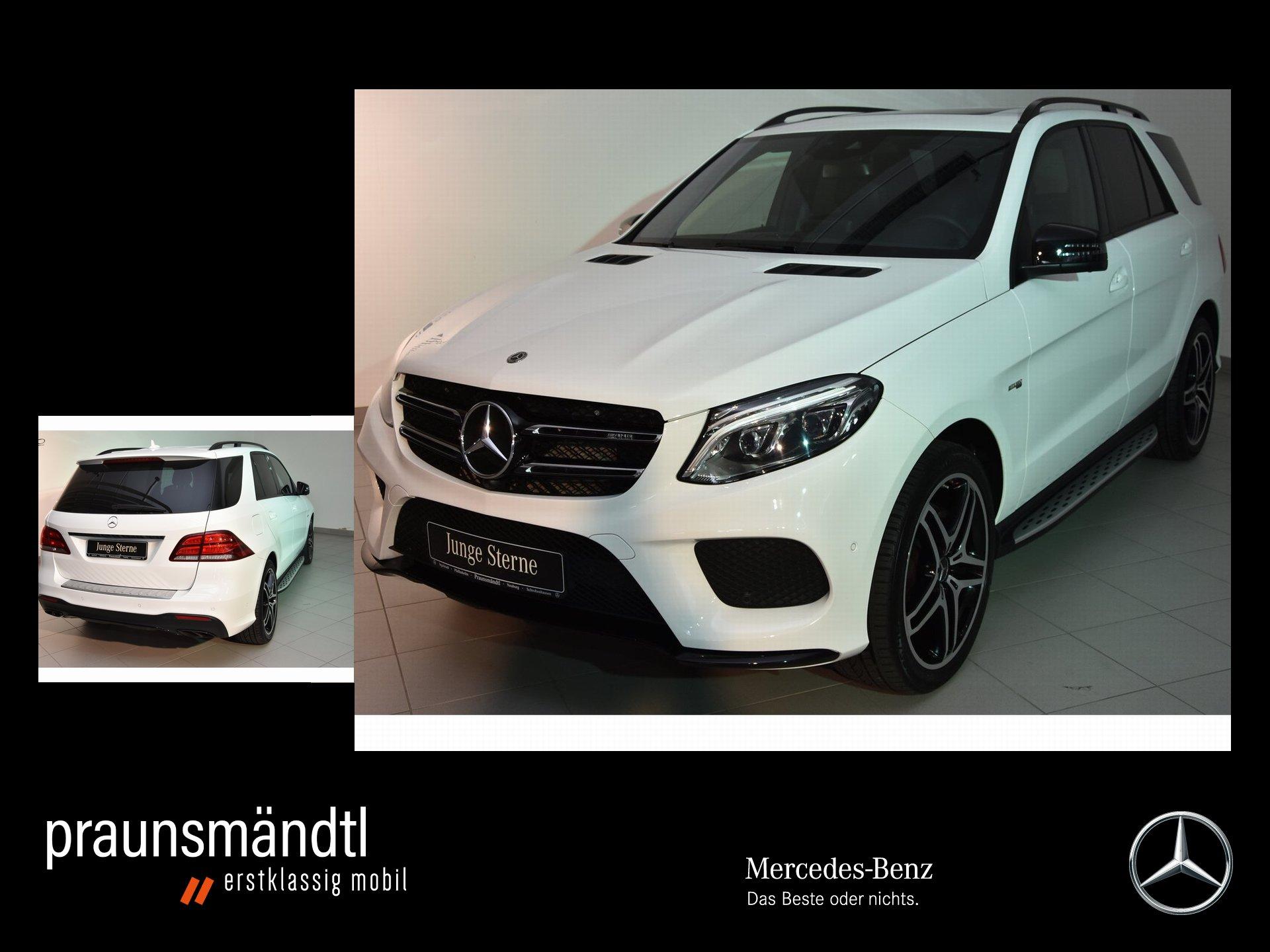 Mercedes-Benz GLE 43 AMG 4M Night Com/360/LED/AIRM/GSD/Sitzkli, Jahr 2017, Benzin