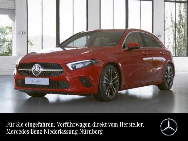 Mercedes-Benz A 200 Progressive LED Kamera Spurhalt-Ass PTS Temp, Jahr 2020, Benzin