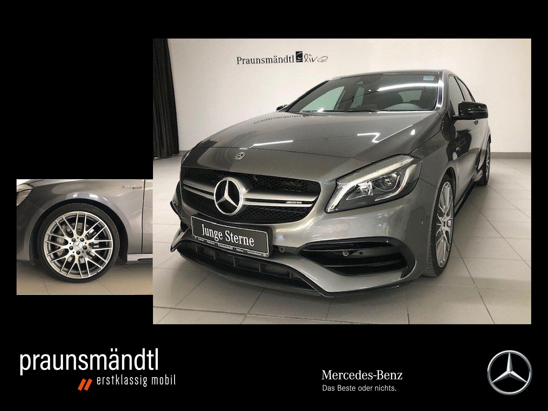 Mercedes-Benz A 45 AMG 4M Drivers/LED/Pano/Com/Sound/Exclusiv, Jahr 2017, Benzin