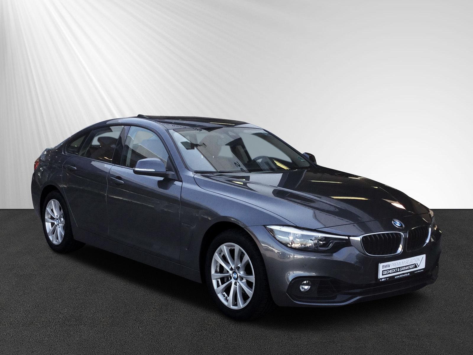 BMW 440i xDrive Gran Coupe Sportline SAG HUD LED SHZ, Jahr 2018, petrol