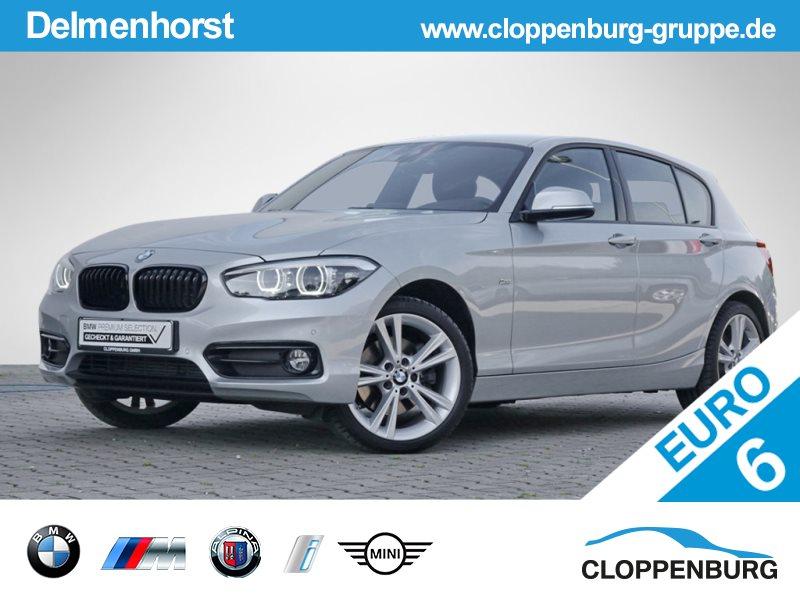 BMW 125d Sport LED NAVI KAMERA TEMPOMAT KLIMA PDC -, Jahr 2018, diesel