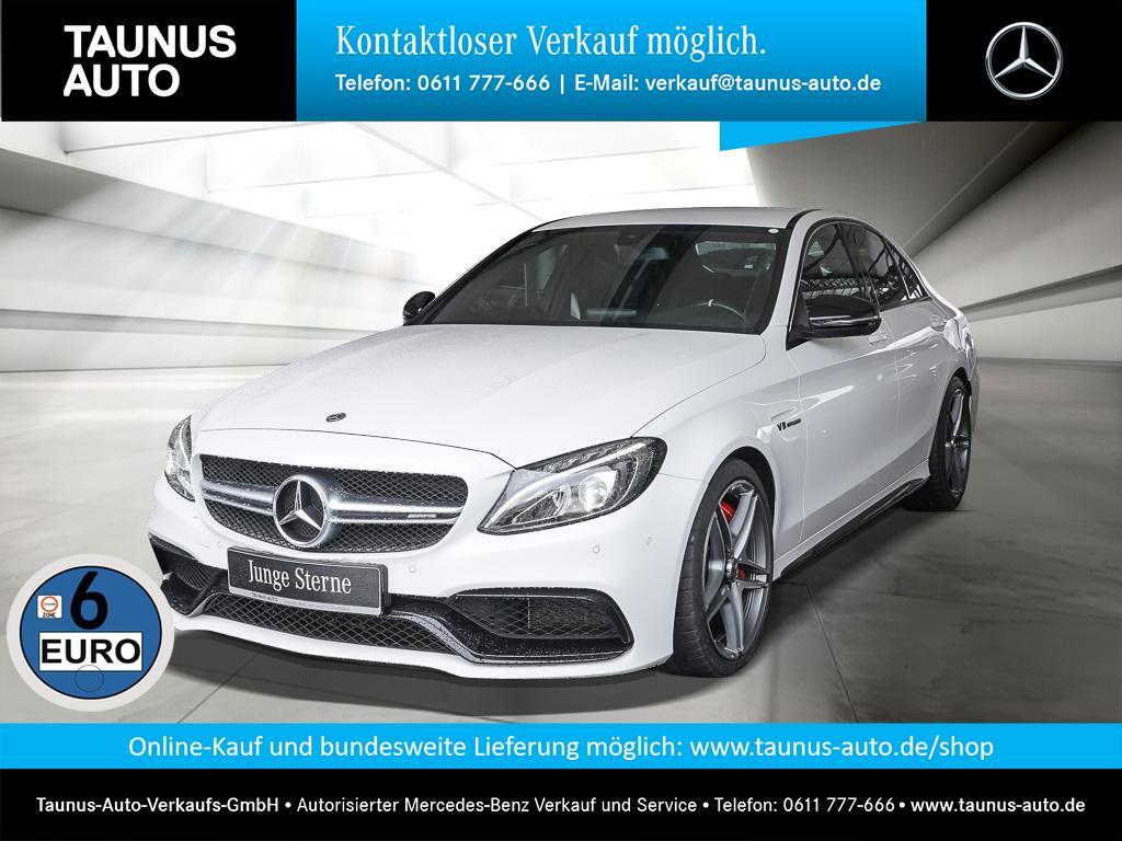 Mercedes-Benz C 63 AMG S NAVI NIGHT KAMERA DRIVERS-PACKAGE, Jahr 2017, Benzin
