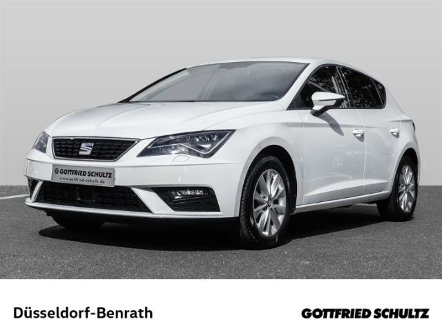 Seat Leon Style 1.6 TDI LED Navi Dyn. Kurvenlicht ACC LED-hinten LED-Tagfahrlicht Multif.Lenkrad, Jahr 2018, Diesel