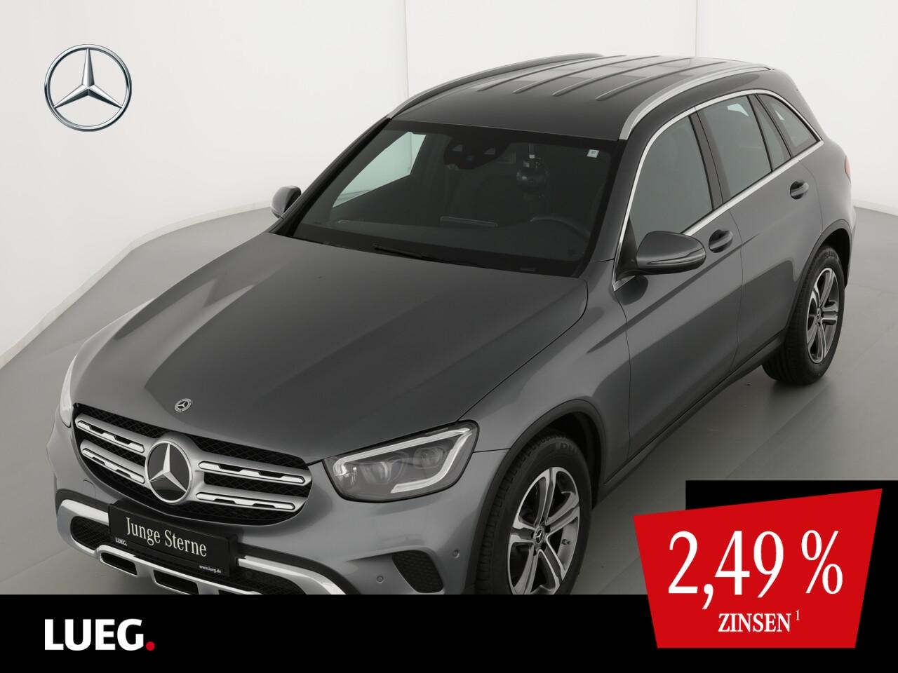 Mercedes-Benz GLC 220 d 4M MBUX+Navi+Mbeam+AHK+SpurP+EHeck+RFK, Jahr 2021, Diesel