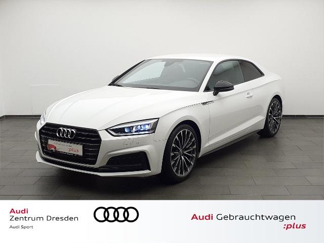 Audi A5 Coupé Sport 2.0 TFSI Black Edition Matrix LED, Jahr 2017, Benzin