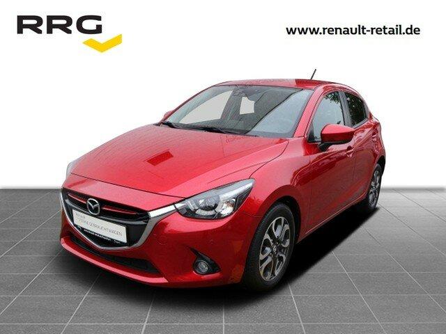 Mazda 2 Lim. Sports-Line 1.5 Skyaktiv-G 90 Klima, Navi, Jahr 2017, Benzin