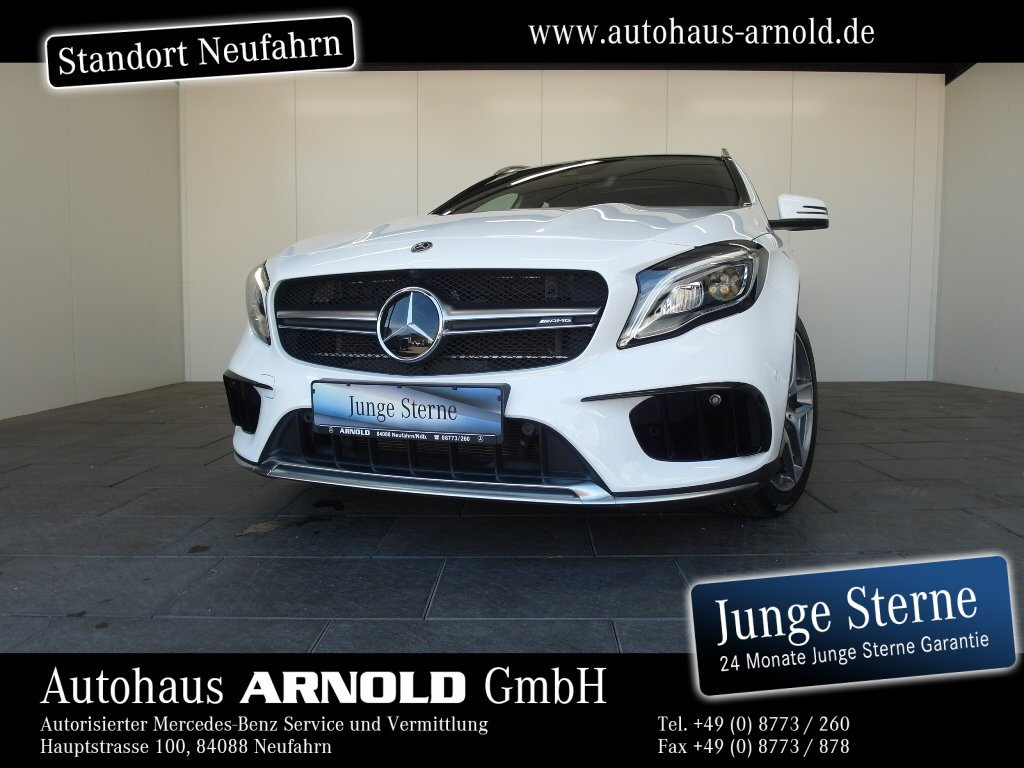 Mercedes-Benz GLA 45 AMG 4M Comand DISTRONIC PanoD. Kamera LED, Jahr 2018, Benzin
