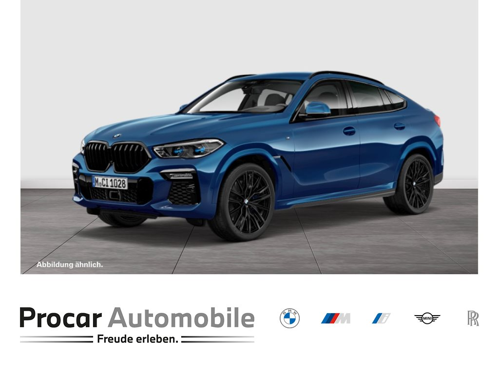 BMW X6 M50i Gestiksteuerung Head-Up HK HiFi DAB, Jahr 2020, Benzin