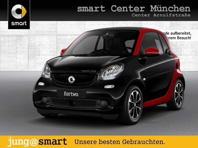 smart fortwo coupé 60kWed passion SHZ PDC Tempom Klima, Jahr 2017, Elektro