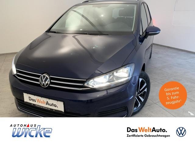Volkswagen Touran 1.5 TSI United 7.Sitzer Klima Navi SHZ, Jahr 2020, Benzin