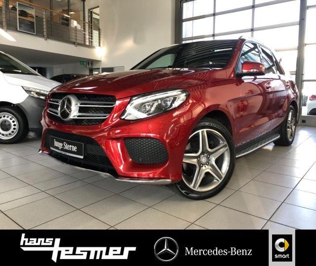 Mercedes-Benz GLE 500 4M AMG,Keyless,Memory,Offroad-TechnikPkt, Jahr 2016, Benzin