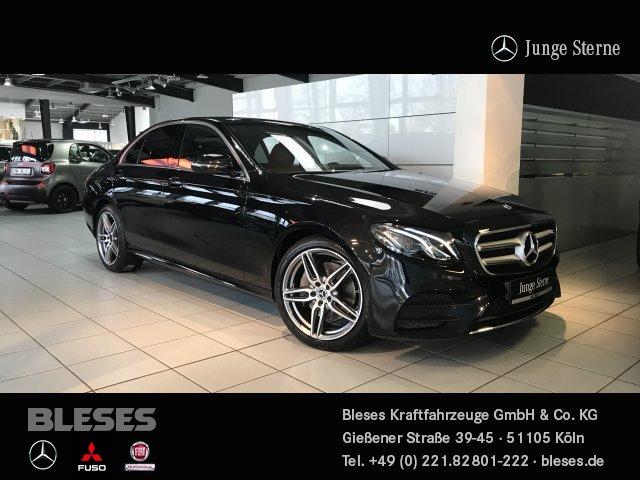 Mercedes-Benz E 200 Lim AMG Line +ParkP+Widescreen+Totw.Ass+, Jahr 2020, Benzin