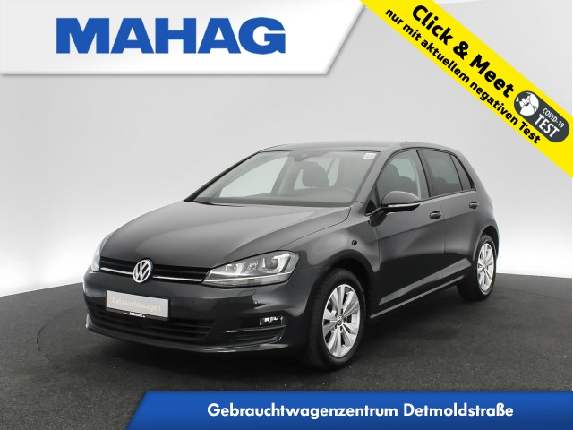 Volkswagen Golf VII 1.2 TSI Comfortline Navi Teilleder Xenon FahrerAssist 6-Gang, Jahr 2016, Benzin