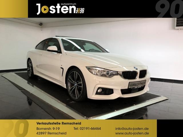 BMW 430 d Coupe M-Sport NaviProf HUD Leder Glasdach, Jahr 2017, Diesel