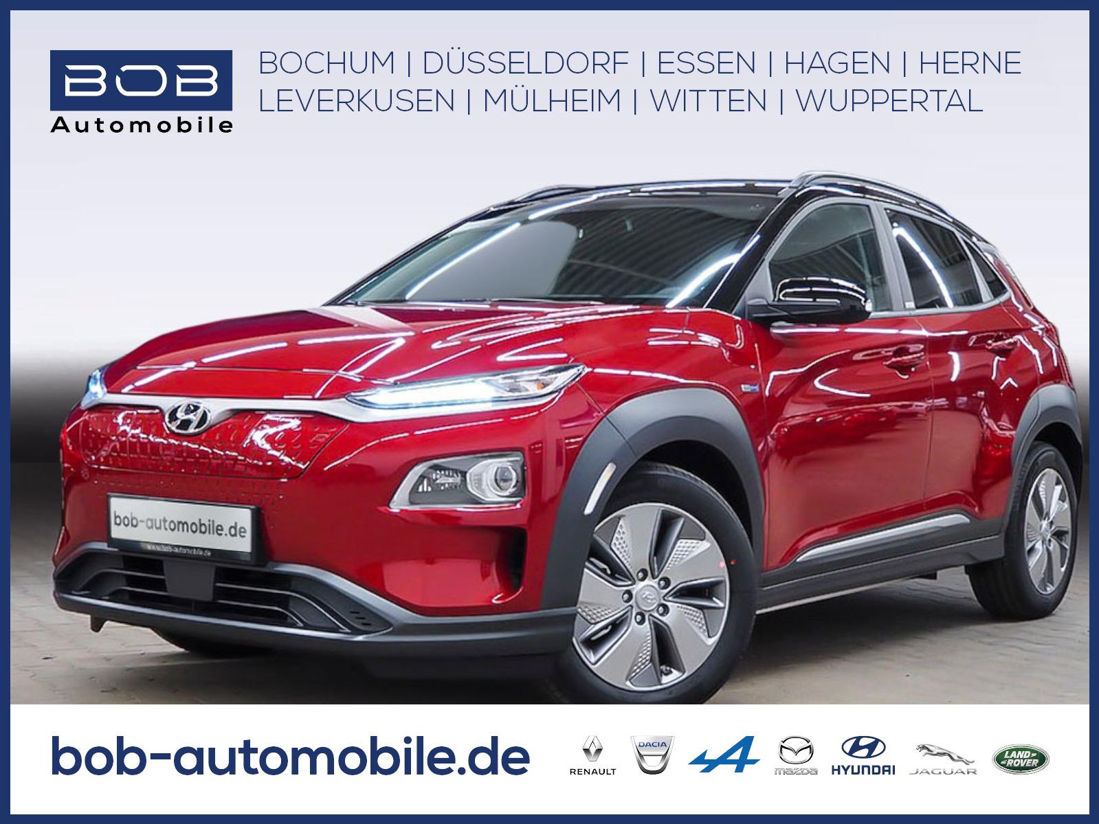 Hyundai Kona Electro STYLE Teilleder Navi-P PDC, Jahr 2020, Elektro