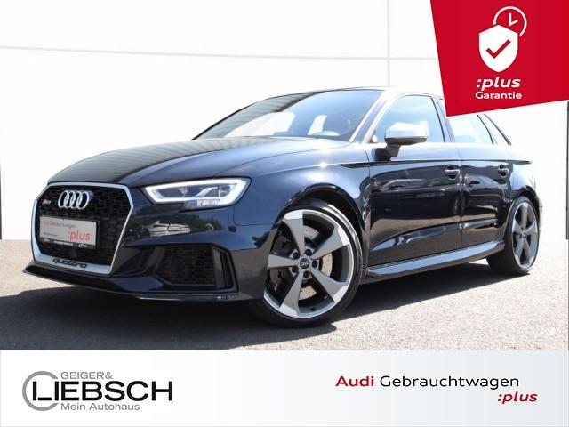Audi RS 3 Sportback 2.5 TFSI quattro Pano B&O LED Navi Sitzhz, Jahr 2017, petrol