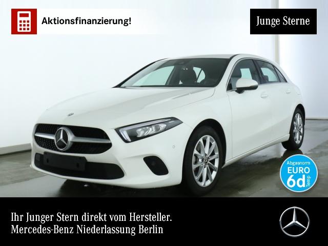 Mercedes-Benz A 200 Navi Premium LED AHK Spurhalt-Ass PTS Sitzh, Jahr 2019, Benzin