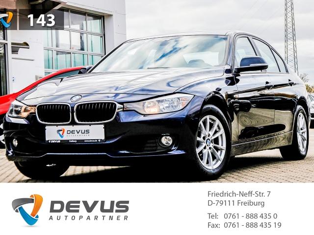 BMW 320 i Klimaauto Einparkhilfe Tempomat Keyless Fernlichtass. Holzausst. LED-hinten Multif.Lenkrad, Jahr 2012, petrol