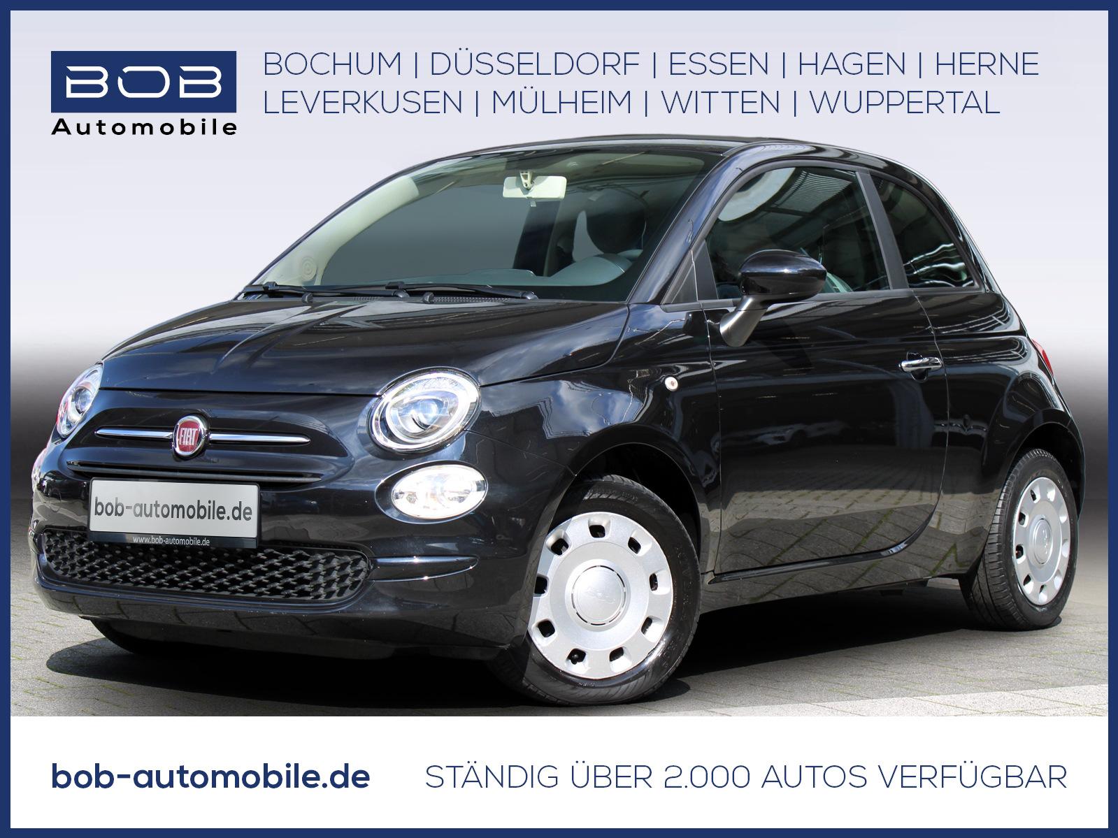 Fiat 500 1.2 Pop Star Klima+eFH+BC+ESP, Jahr 2016, Benzin