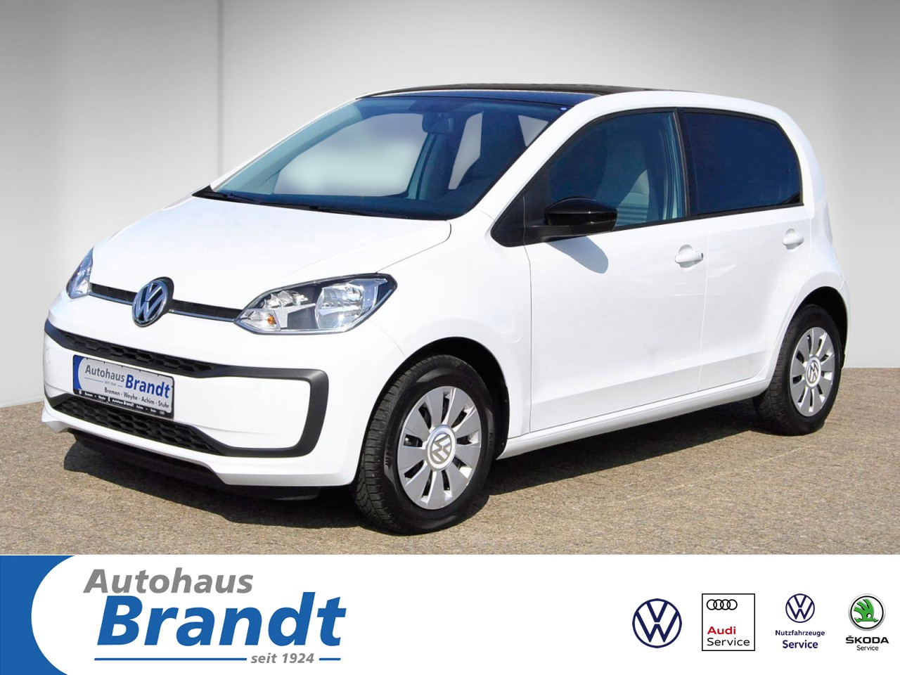 Volkswagen up! move up! KLIMA*5-TÜRER Klima Fenster el., Jahr 2019, Benzin