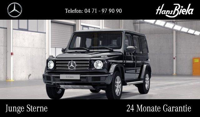 Mercedes-Benz G 500 PremNav/Burm/SHD/Dist/360°/AHK/Multibeam, Jahr 2018, Benzin