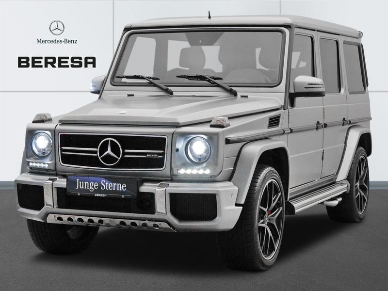 Mercedes-Benz G 63 AMG 463 Designo Magno Carbon Distronic StHz, Jahr 2016, petrol
