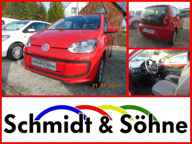 Volkswagen up! 1.0 move up!/maps+more Klima Navi, Jahr 2014, Benzin