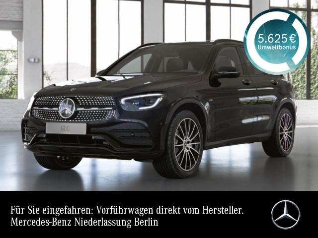 Mercedes-Benz GLC 300 de 4M AMG+Night+Pano+MultiBeam+Kamera+Spur, Jahr 2021, Hybrid_Diesel