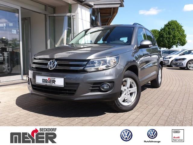 Volkswagen Tiguan Trend & Fun 1.4 TSI Klima Kurvenlicht, Jahr 2012, Benzin