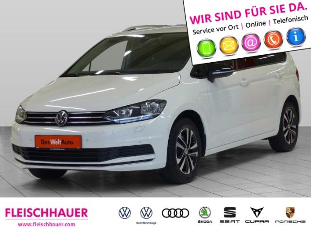 Volkswagen Touran IQ.DRIVE 1.5 TSI DSG+Navi+connect+7-Sitzer+PDC+SHZ, Jahr 2019, Benzin