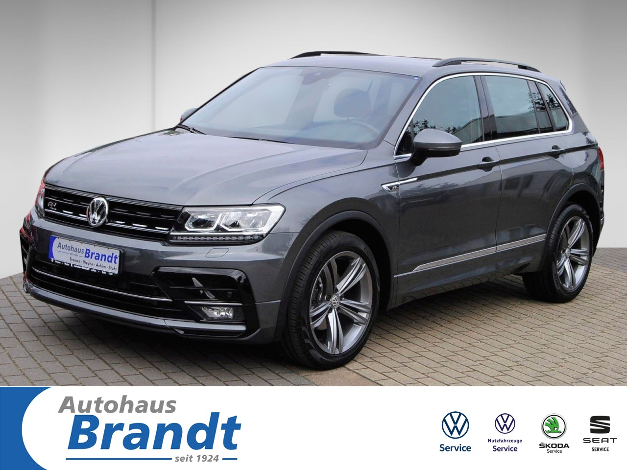 Volkswagen Tiguan 2.0 TDI Comfortline R-LINE*DSG*LED*ACTIVE INFO*ACC, Jahr 2018, Diesel