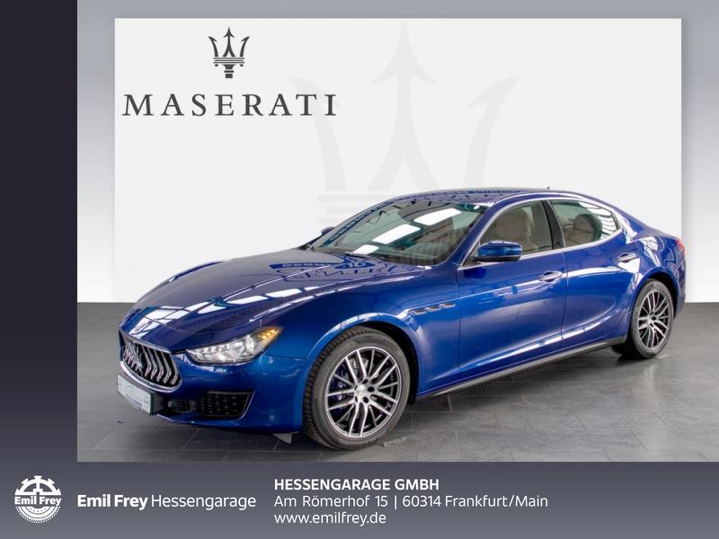 Maserati Ghibli Diesel ZF-Aut. Euro 6d-Temp DAB 19'' Navi, Jahr 2018, Diesel