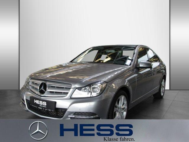 Mercedes-Benz C 180 BE Avantgarde KlimaA PTS SHZ Navi-Vorr., Jahr 2013, Benzin