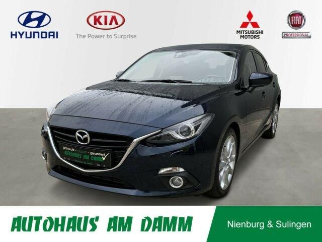 Mazda 3 Lim. Sports-Line / NAVI / PDC / Garantie / SHZ, Jahr 2013, Diesel