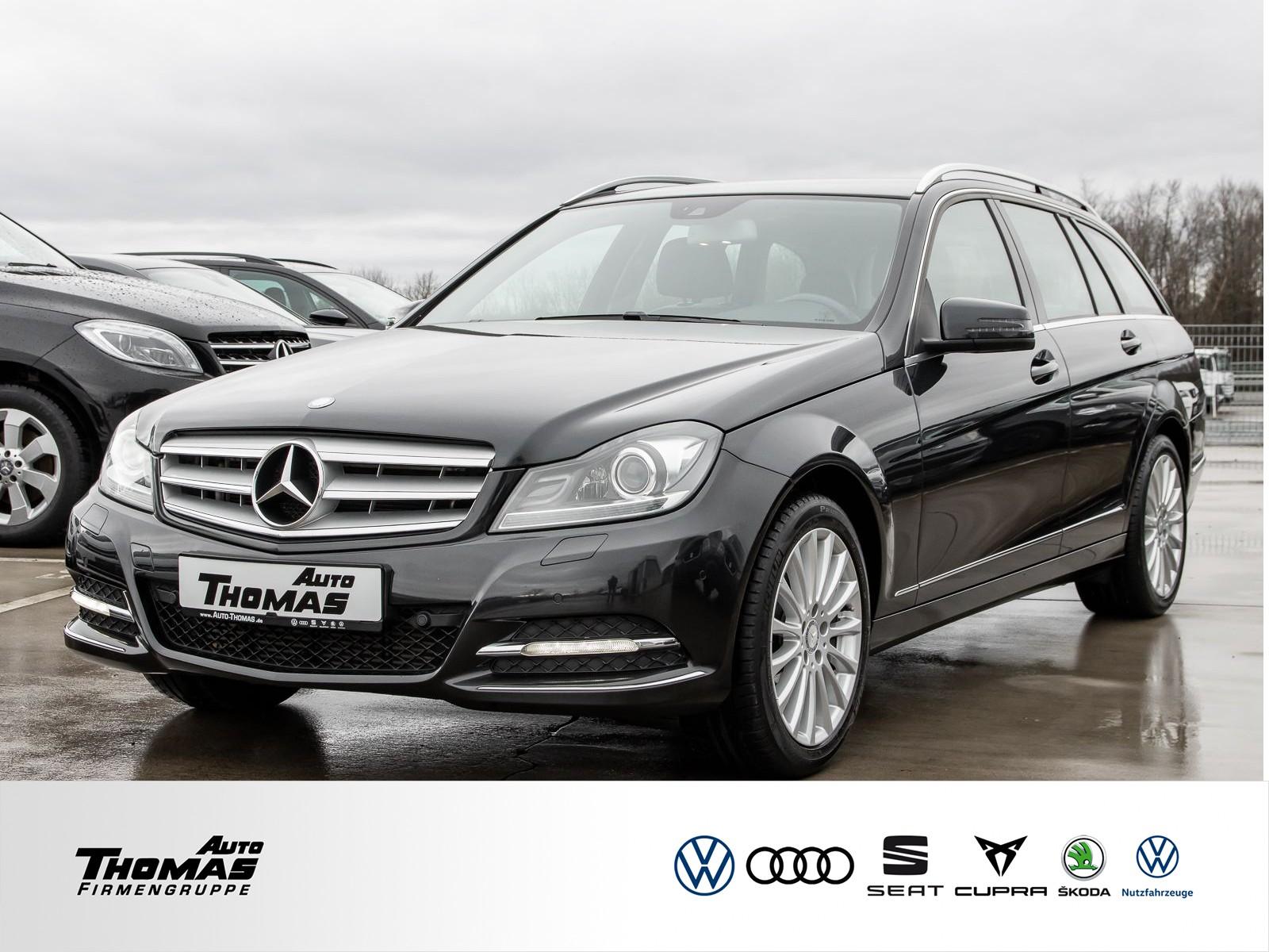 """Mercedes-Benz C 180 T """"Avantgarde"""" XENON+PDC+SHZ+AHK, Jahr 2013, petrol"""