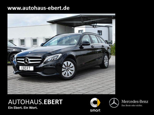 Mercedes-Benz C 220 d T NAVI+PSD+LED+EASYPACK+SHZG+PTS+EU6, Jahr 2016, Diesel