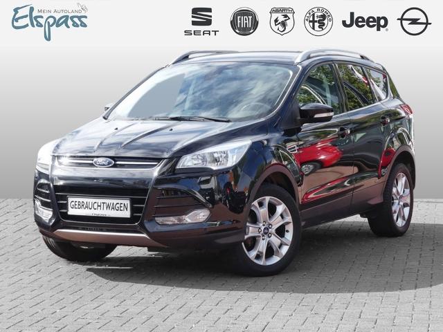Ford Kuga Titanium 1.5 EcoBoost NAVI PDCv+h KEYFREE BLUET, Jahr 2014, Benzin